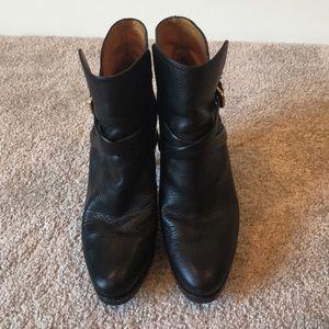 Ralph Lauren Purple Label/Collection Leather Boots